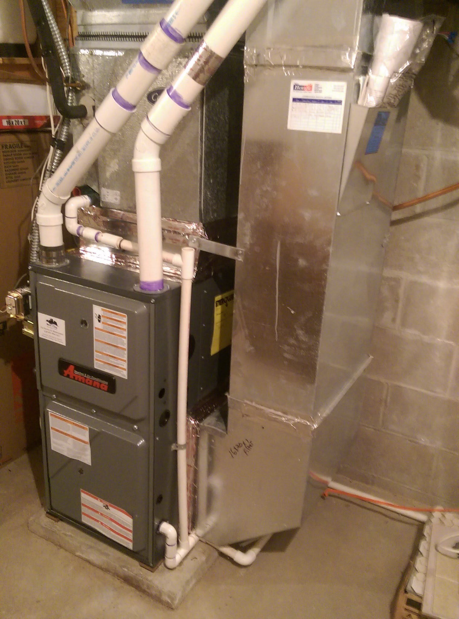 New High Efficiency Amana Furnace Install Golden Valley